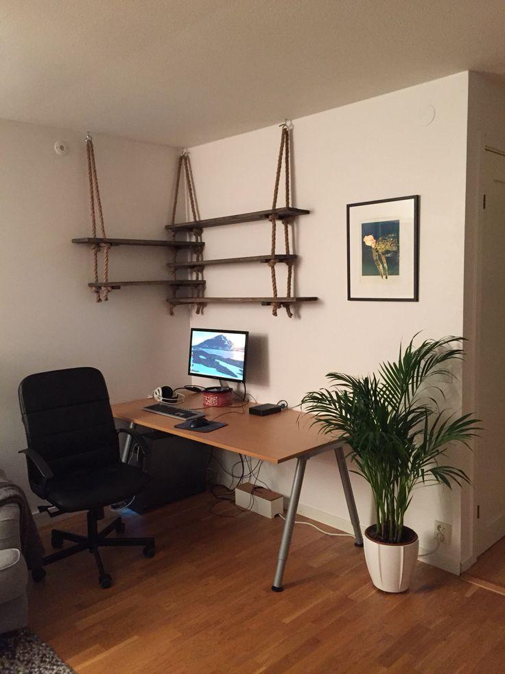 #shelf #diy #ropeshelf #hylla #rephylla #drivvedsbets