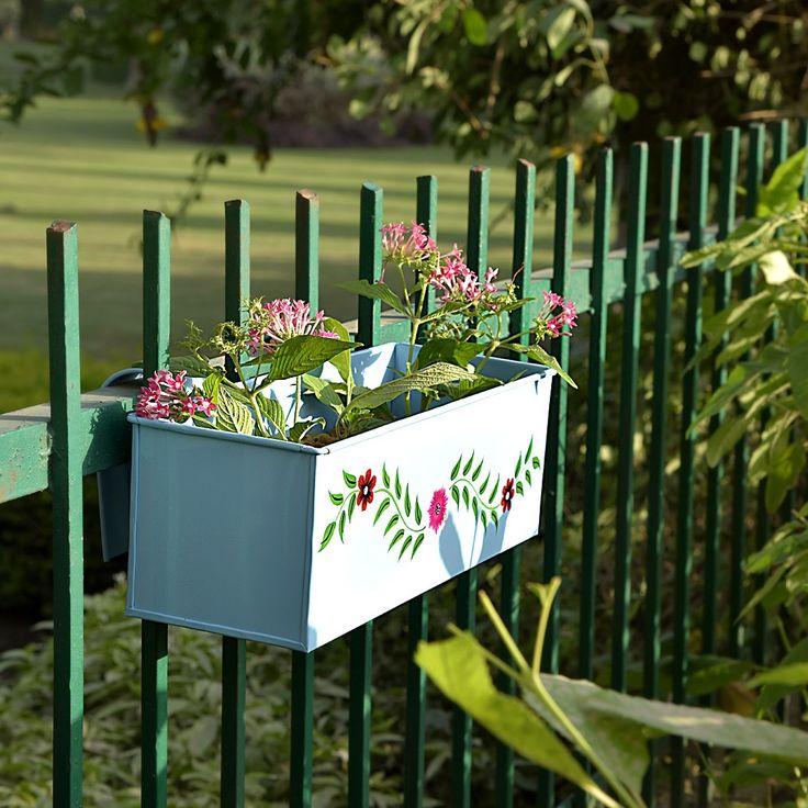 Window box planter #planters #plant #garden #flowers #shazliving #pinit #pinterest #leaves #gardening Shop at: https://www.shazliving.com/