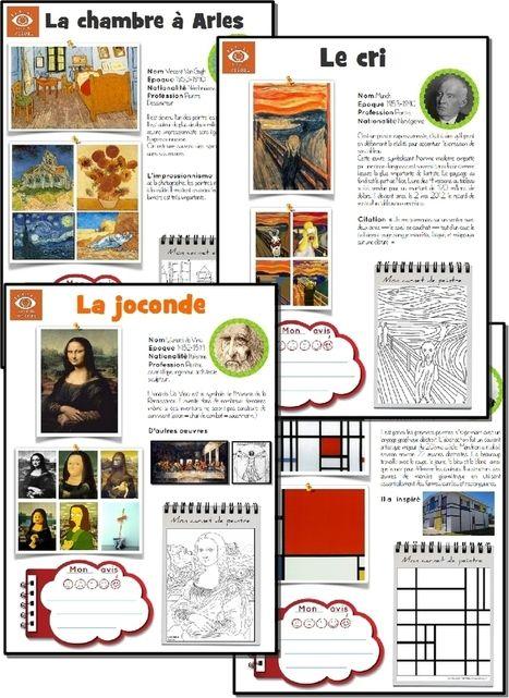 [Histoire de l'art] L'oeuvre d'art de la semaine | Primary French Immersion Education | Scoop.it