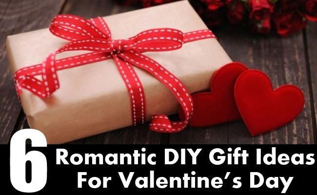 6 Romantic DIY Gift Ideas For Valentine's Day