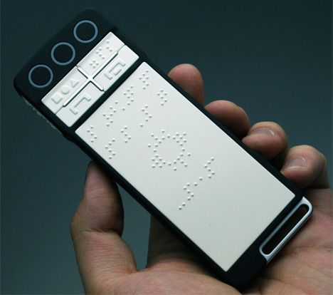 B-Touch Innovative Touchphone For The Blind by Zhenwei You
