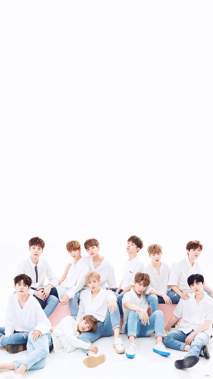 Wanna one lockscreen