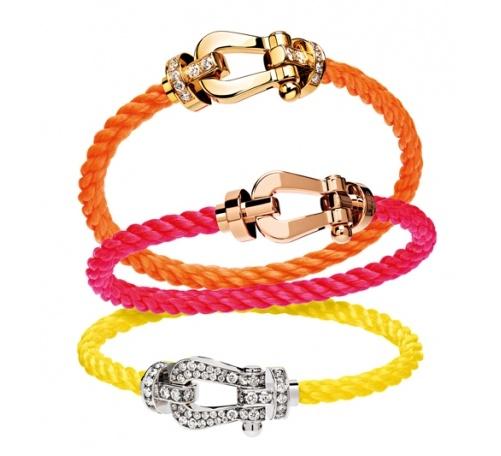 Bracelet Force 10 Fred fluo http://www.guilhem-joaillier.com