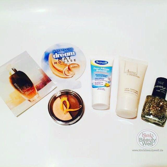 #Adventskalender 4. Türchen ➖Shopping Queen Lidschatten ➖Lancaster 365 Skin Repair 1 ml ➖Maybelline Dream Mat Mousse 1 ml ➖Scholl Fuss Pflege Balsamu 20 ml ➖Aura by Swarovski Body Lotion 30 ml ➖Misslyn effect Top Coat  #beauty #topcoat #beautykalender #shoppingqueen #makeup #mat #maybelline  #bodylotion #aura #swarovski #lidschatten #eyeshadow #lancaster #skinrepair #pieper #pieperadventskalender #maybellineadventskalender #realadventskalender #shoppingqueenadventskalender #scholl #fußbalsam