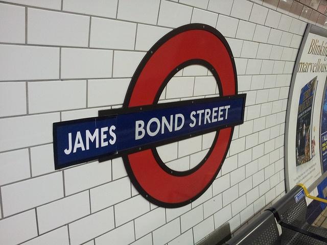 James Bond Street by NViktor, via Flickr