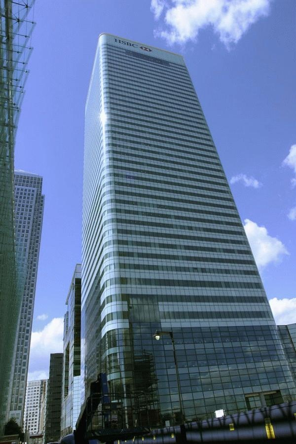 8 Canada Square (HSBC), London, by Sir Norman Foster
