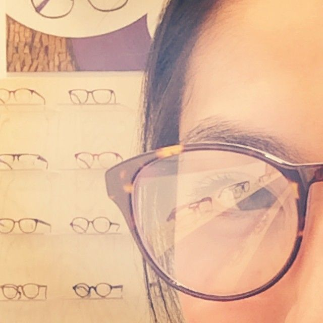 Carrie Lau, Senior Editor at PlayingFashion: 'Checked out some sleek  frames at Danish opticians chain @crosseyeslondon here in Barbican in London. You might see me more often in my glasses from now on. You might. #YesterdayIsYesterday #simple #setprices #style #selection #skill #service #super'
