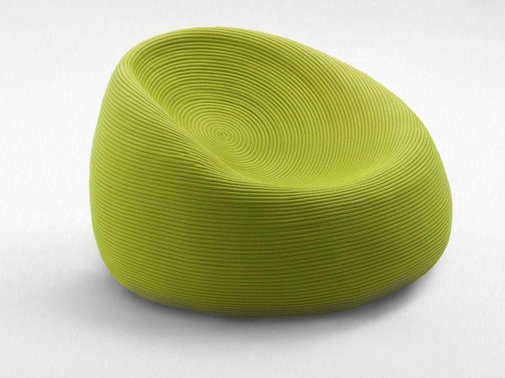 OTTO Garden armchair by @paola_lenti  #green #armchair