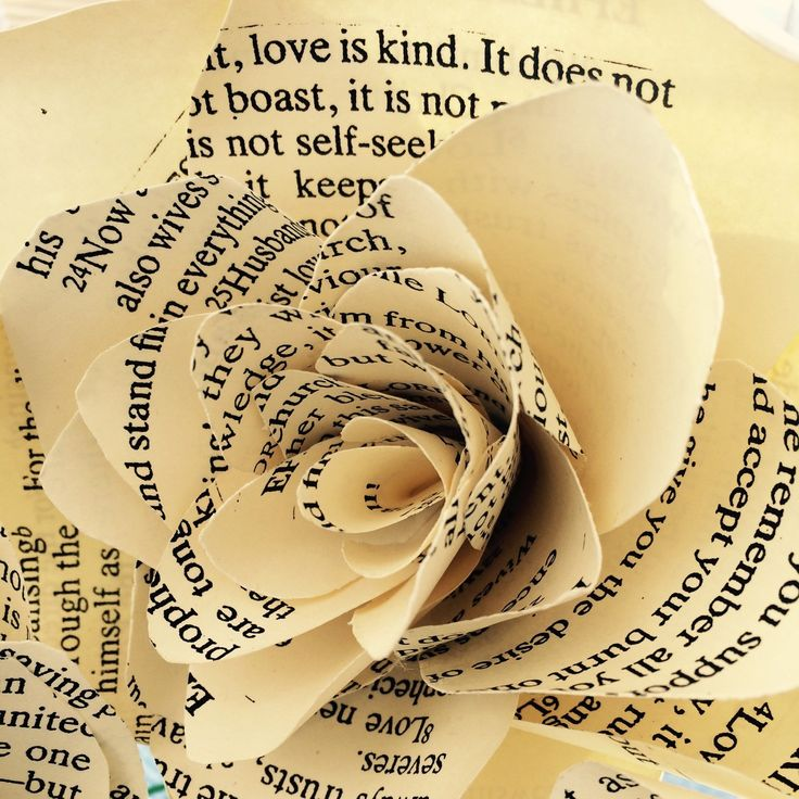 Recently had an order for a custom made wedding boquet made with Bible verses from Corinthians and Ephesians.