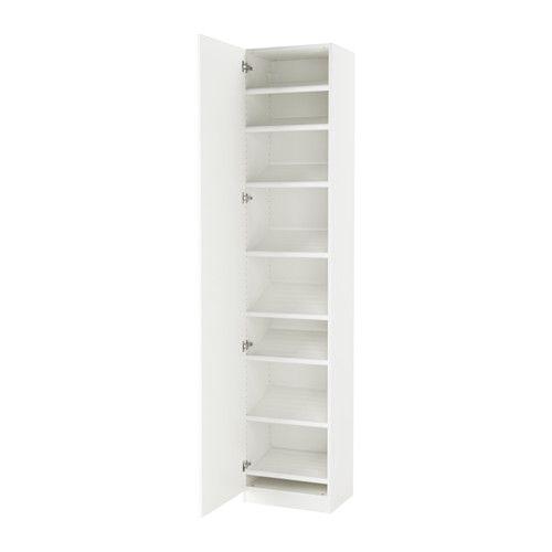 PAX Kleiderschrank - 50x38x236 cm, Scharnier, sanft schließend - IKEA