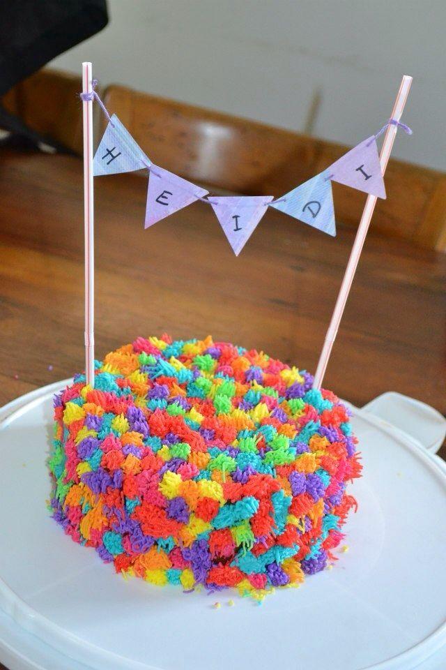 Pompom cake