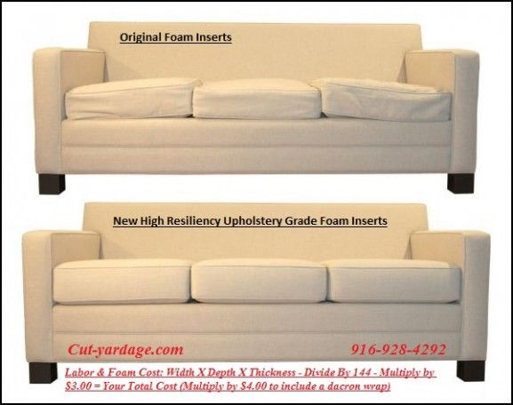Upholstery Foam for sofa Cushions