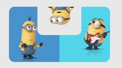 Play fun games and win goodies like this! Minions movie clip