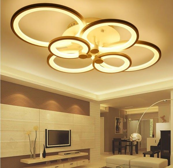 Wohnzimmer Led Deckenleuchte Mit Fernbedienung In 2020 Bedroom Lighting Design Bedroom Ceiling Light Room Lights