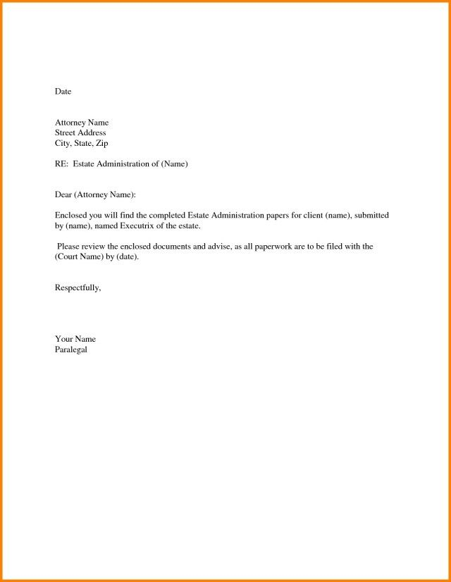 27  cover letter enclosure   cover letter enclosure letter
