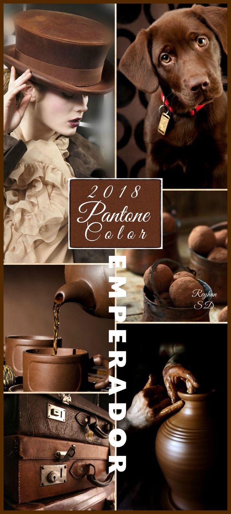'' Emperador- 2018 Pantone Color '' by Reyhan S.D