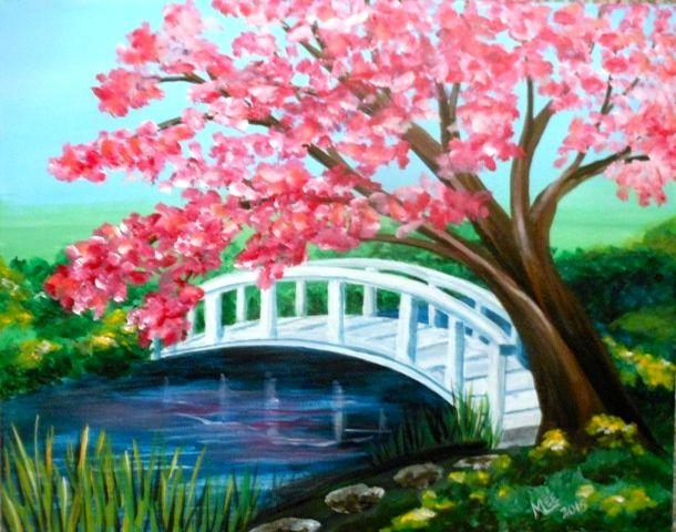 Japanese Garden Cherry Blossom Paintings 1000+ best images about kurs için on pinterest | watercolors, folk