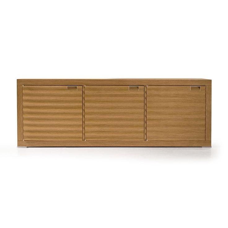 Aura Sideboard Wood Essence Base Oak Top