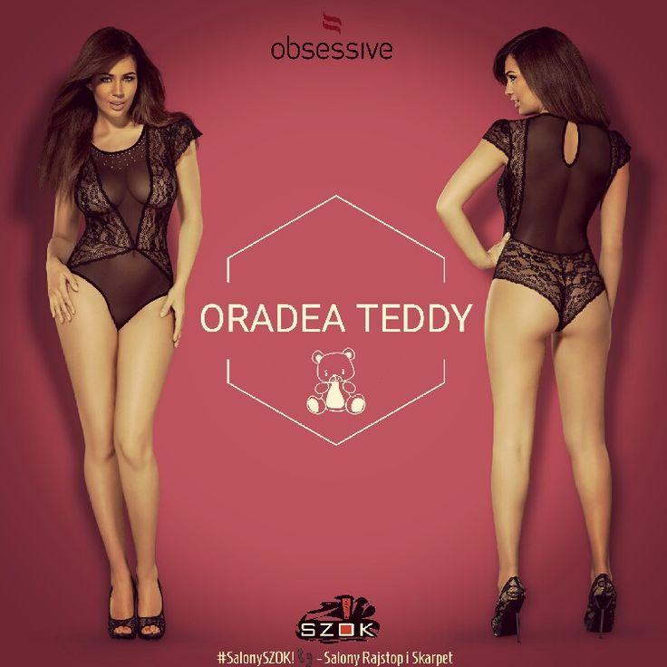 🔴 Małe #pudełeczko a w nim coś #kuszącego, #przyjemnego i #eleganckiego... #Ordea #Teddy firmy #Obsessive! Dostępna w ➡ #SalonySZOK!👣 💯♨