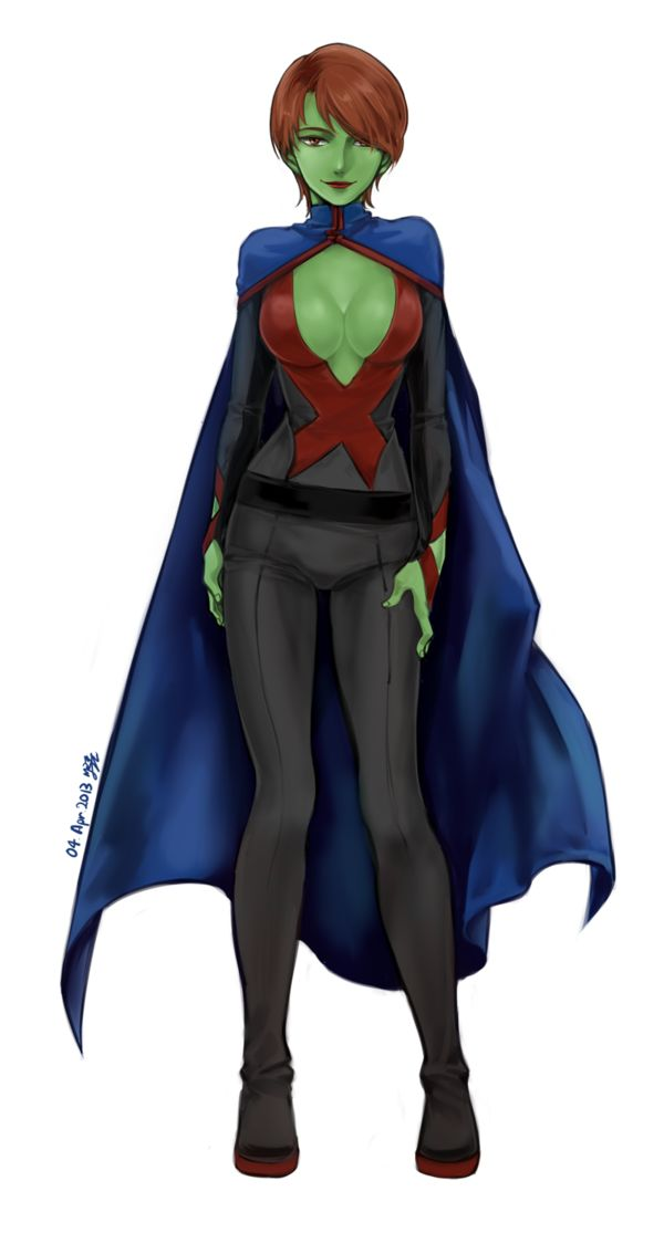 Apologise, but, Young justice miss martian