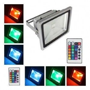 LED Outdoor Flood Light Color Change RGB LED Http://cheesycam.com/