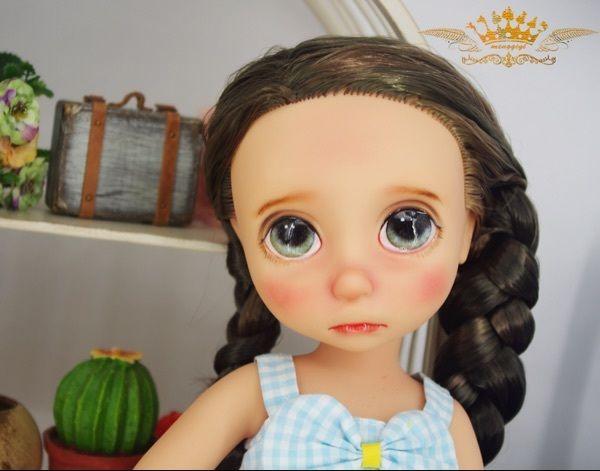Копченые ребра Цици [ленивым], чтобы изменить макияж салон кукла-шоу