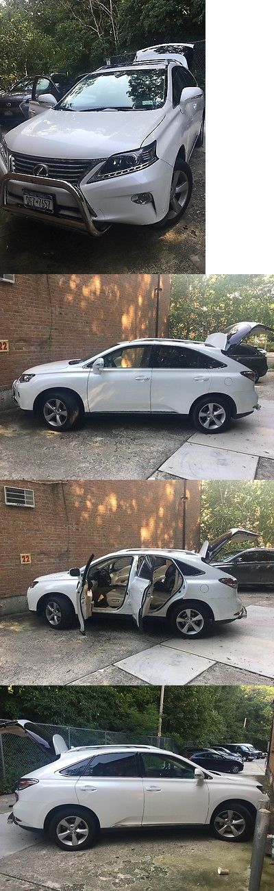 SUVs: 2013 Lexus Rx Suv 4 Door 2013 Lexus Rx350 Used No Accidents Near Perfect Condition, White, Leather Seats. -> BUY IT NOW ONLY: $27000 on eBay!