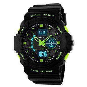 DAYAN poignet extérieur électronique numérique Sport Horloge numérique LED 50M sports de plein air numérique étanche Montres de jeunes de…