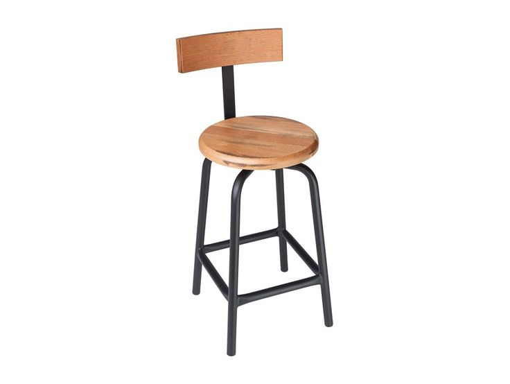 Swivel Pub Stool with Back - 24  H A customer favorite the Swivel Pub Stool  sc 1 st  Pinterest & 11 best Work Stools With Back images on Pinterest | Stools with ... islam-shia.org