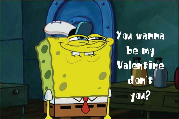 happy valentines day from spongebob har har har pinterest - Spongebob Valentines Day Cards