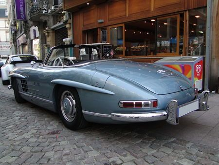 MERCEDES BENZ 300 SL Cabriolet 1957 1963 Festival Automobile de Mulhouse 2010 3