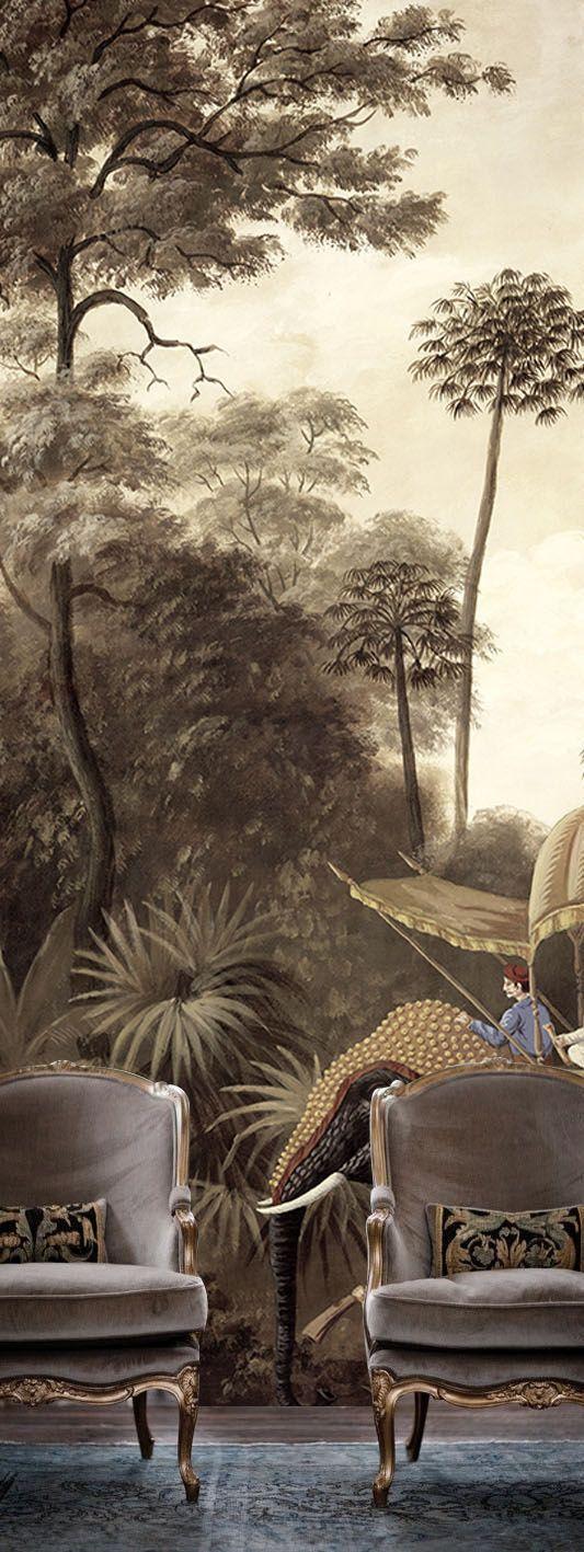 Ananbô. Beautiful tromp d'oeil wall