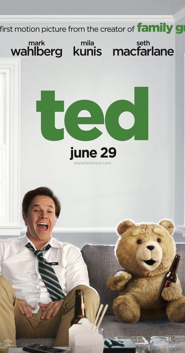 Directed by Seth MacFarlane.  With Mark Wahlberg, Mila Kunis, Seth MacFarlane, Joel McHale. From the creator of Family Guy comes a movie about John Bennett, whose wish of bringing his teddy bear to life came true. Now, John must decide between keeping the relationship with the teddy bear or his girlfriend, Lori.
