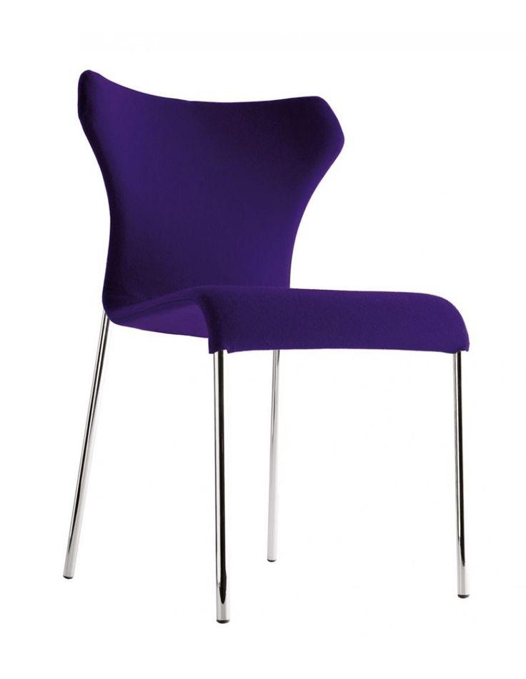 b&b italia papilio stoel Ontwerp: Naoto Fukasawa, 2008 Leverbaar in stof of leder Poten: staal of verchroomd