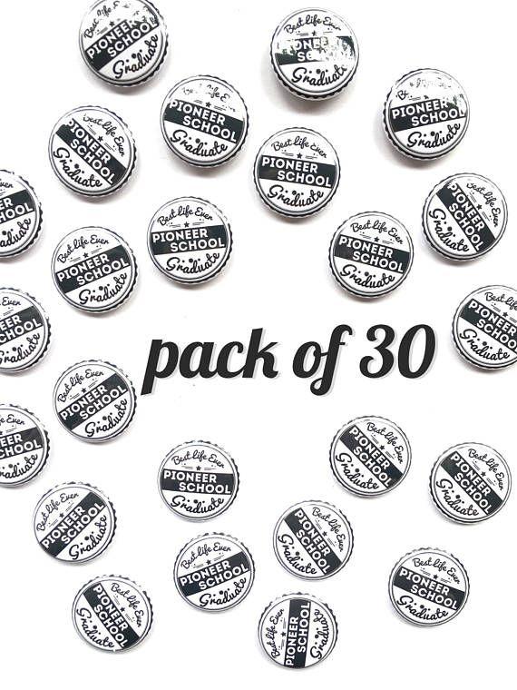 Pack of 30 Pioneer School Gift Graduate Pin JW JW.ORG