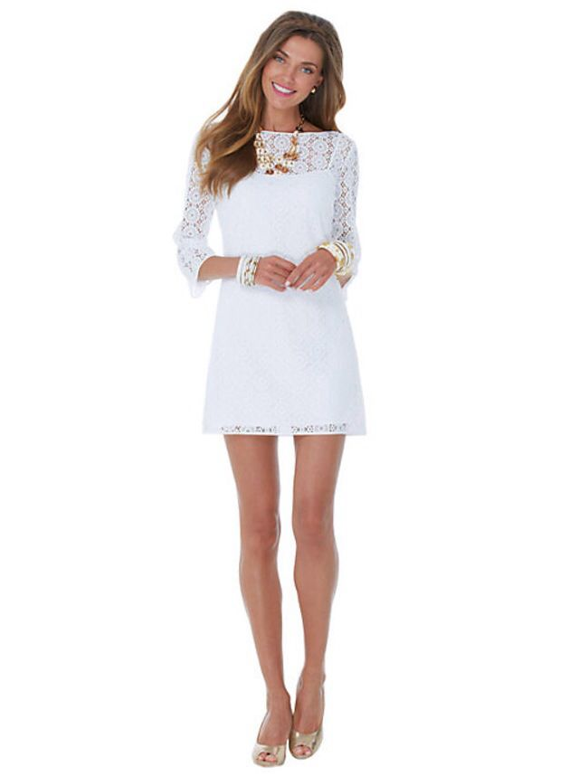 Lily Pulitzer white dress