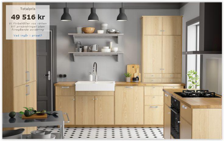26 best images about ikea kitchen on pinterest warm oak kitchens and wooden doors. Black Bedroom Furniture Sets. Home Design Ideas