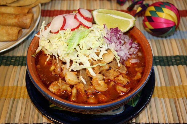 ... estilo Jalisco... | GuadalAJARA | Pinterest | Pozole and Pozole Rojo