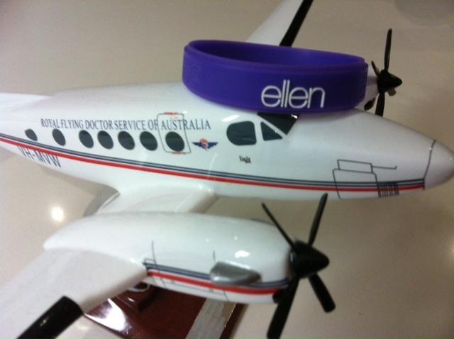 Ellen is flying down under to Aus!!