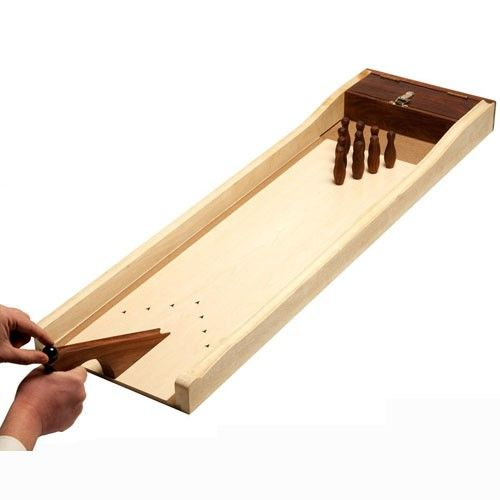 Bowling Mango : Mini Bowling en bois. Dimensions : 110 X 35 cm. Coffret Palissandre. http://www.supreme.fr/jeux/jeux/jeux-bois/bowling-mango.html
