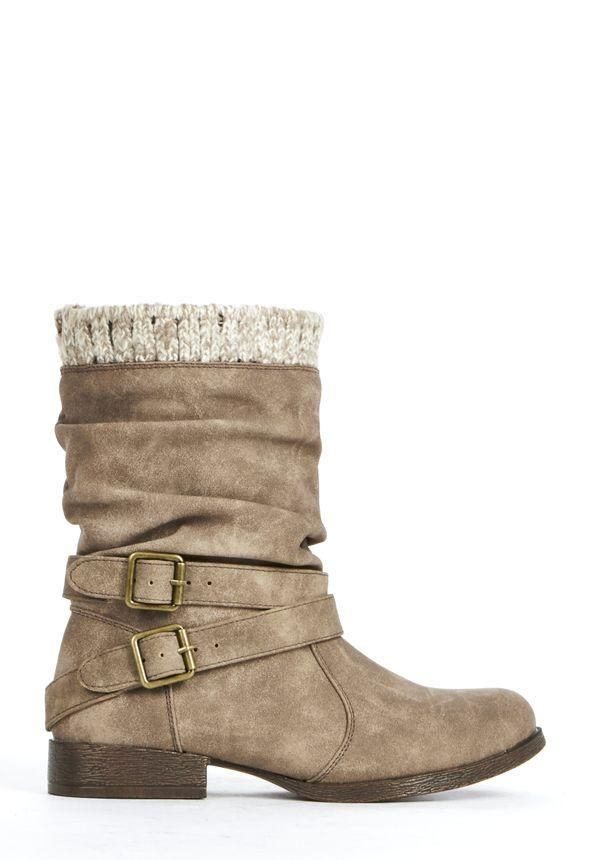Easy to pull-on, Morlan is the bootie you need for comfort and warmth. l  JustFab
