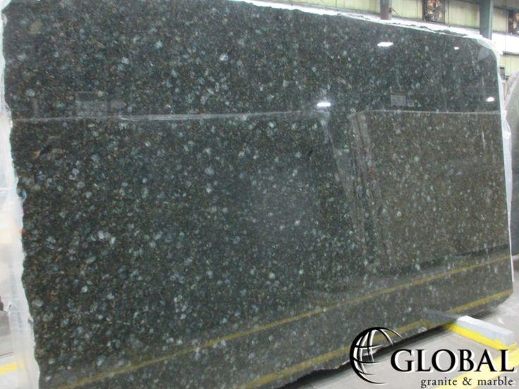 Verde Butterfly Expo (Verde Peacock) granite slab. Visit globalgranite.com for your natural stone needs.
