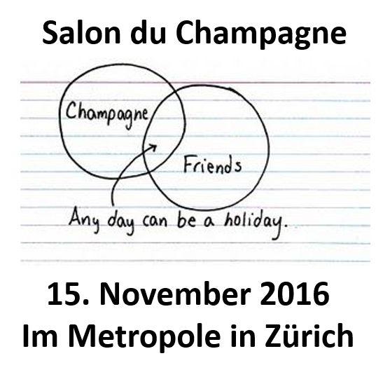 The biggest Champagne tasting Event in Zürich