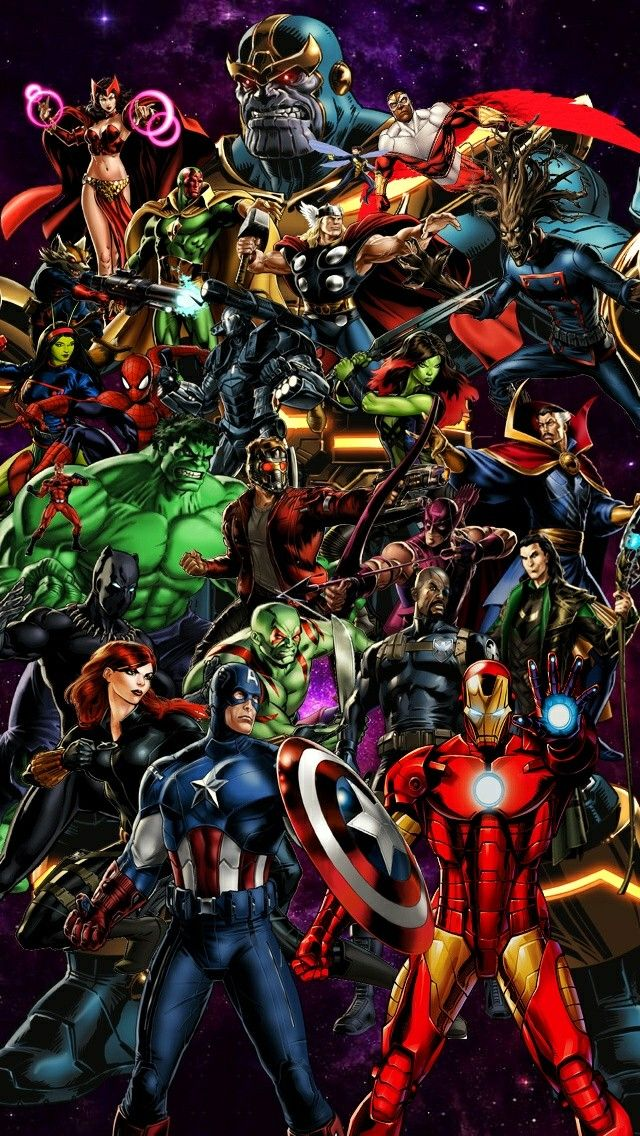 the avengers wallpaper for smartphone the world of marvel