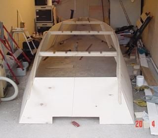 "A 15'8"" fishing punt 