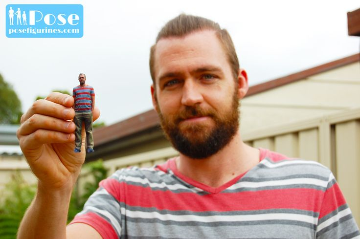 Want a twin mini-me 3D printed figurine of yourself? Visit Pose Figurines in Vancouver Canada today