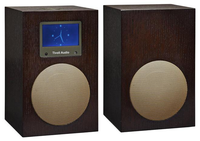 Henry Kloss Tivoli Audio, model Networks+ stereo, colour: wengé