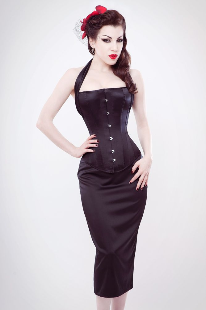 70 m2065trg3 line top steel boned corset in
