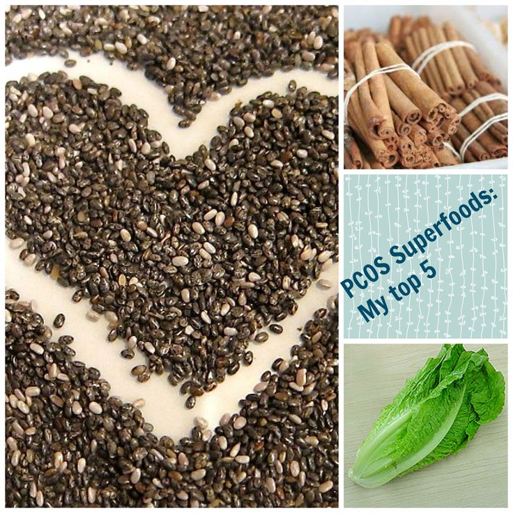 PCOS Super foods! Romaine, Cinnamon, Raw Cacao, Chicken Breast (organic), Chai seeds