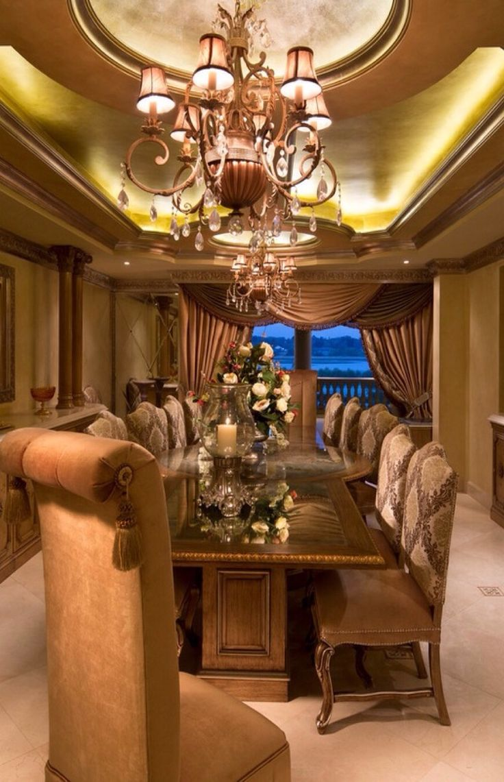 920 best dining in luxury images on pinterest formal dining it s not for sale but we decided to share it with you anyways the interior was done by renowned interior de luxury homes interior
